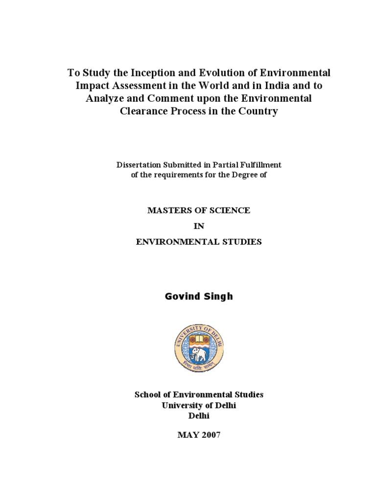 Dissertation proposal on change management