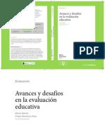Avances y Desafios en La Evaluacion Educativa