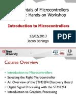 Fundamentals of MCUs Session 1