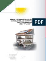 Sisteme Solare Manual Intretinere TESY