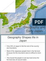 geography shapes japan