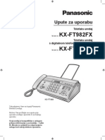 Panasonic KX-FT982 User Manual