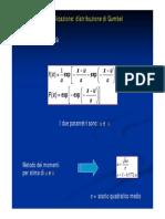 Esempio Applicazione Distribuzione Di Gumbel