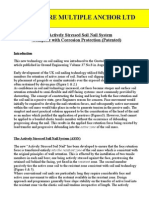 Post Stressed Soil Nailing a Synopsis Pirooz Barer s e Pab Inc
