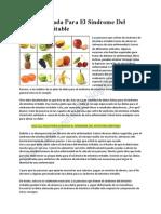 Sindrome intestino irritable dieta pdf