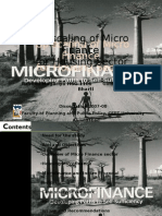 Up Scaling of Micro Up Scaling of Micro Finance Finance