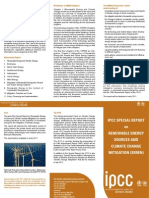 Ipcc Special Report on Renewable Energy