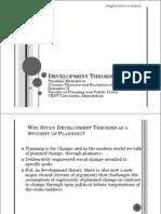 Development Theoriess 2008