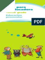 Guia Para La Edcadora de Nivel Preescolar Tomo 3