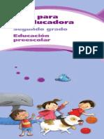 Guia Para La Educadora de Nivel Preescolar Tomo 2