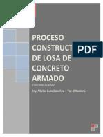 Proceso Constructivo de Losa de Concreto Armado - Ing. Nestor Luis Sanchez - @NestorL