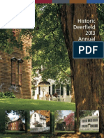 2013 Historic Deerfield Annual Report