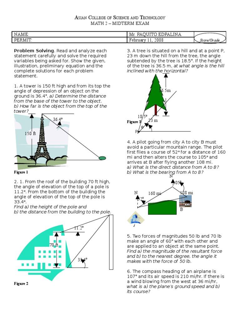 Math2MT | Angle | Speed
