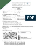 Ficha Geologia 1 - Datção relativa SD