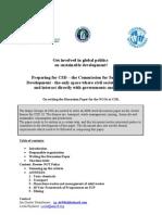 UN CSD 18