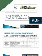 Aula revisão Portugues Esaf Marcelo Bernado AFT
