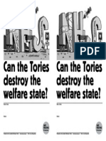 Can Tories Destroy Welfare State SWP Mtg template