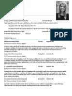 website education resume
