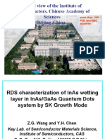 RDS characterization of InAs wetting layer in InAs/GaAs Quantum Dots system by SK Growth Mode