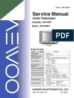 Dth-29ms Service Manual Cm012m (S-m)