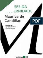 CANDILLAC, Maurice de. Gêneses da Modernidade