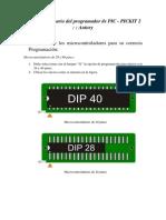 Manual de Usuario de Programador PIC Antury
