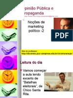 Noções de Marketing Político - 2