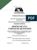 DISEÑO UNIDAD DE QUEMADOS