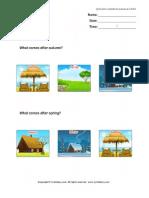 Seasons Worksheet 6 TurtleDiary