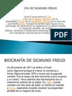 BIOGRAFÍA DE SIGMUND FREUD (1)