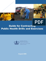 Guide for Contracting Public Health Drills and Exercises