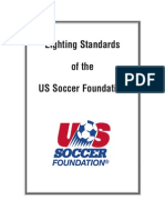 Lighting Standards of the US Soccer Foundation