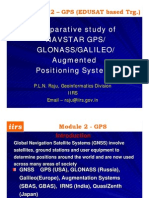Comparison GPS GLONASS Galileo PLNRaju2