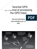Differential GPS (a Method of Processing the GPS Data)