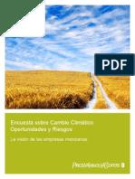 Encuesta Cambio Climatico1109