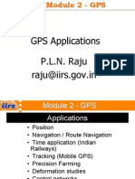 GPS Application EDUSAT3