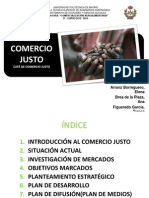 Comercio Justo Power Point