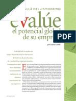Evalue El Potencial Global de Su Empresa