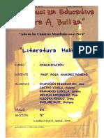 Monografia Cultura Hebrea