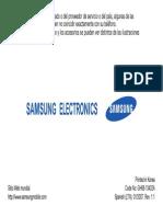 Samsung Sgh-e256 User Guide