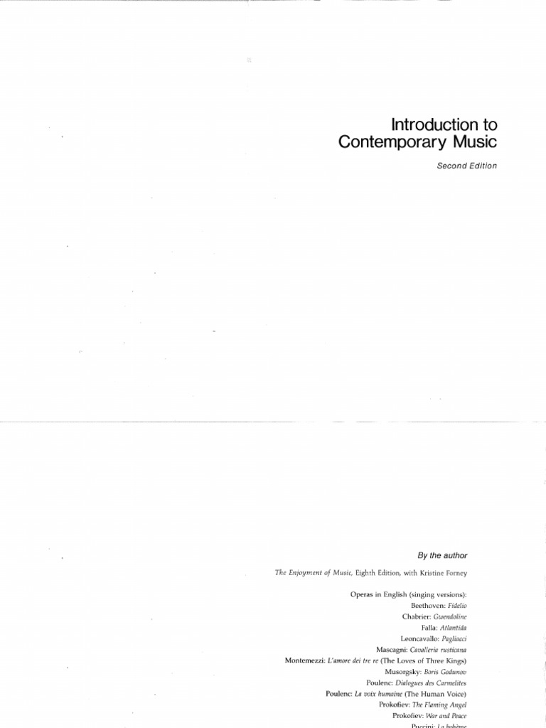 Introduction to contemporary music classical period music introduction to contemporary music classical period music romanticism fandeluxe Images