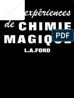 100 Experiences de Chimie Magique