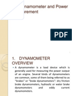 17. Dynamometer and Power Measurement