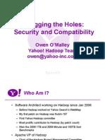 Security Compatibility Hadoop World 2009