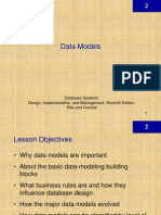 DBMS Chapter 2 - Data Models