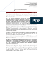 Derecho Constitucional II, Tema 5