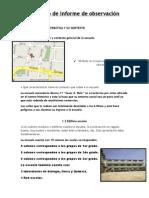 Formato de informe de observación