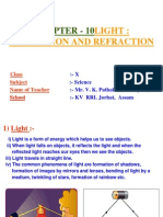 light-reflection and refraction ppt