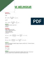 laporan praktikum fisika teknik GERAK MELINGKAR