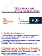 periodic classification of elements ppt